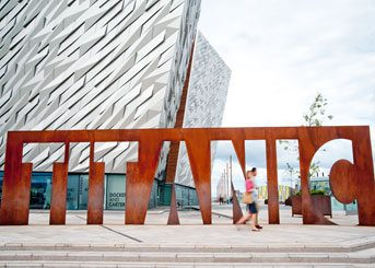 Ireland Trips - Northern Ireland Titanic Museum