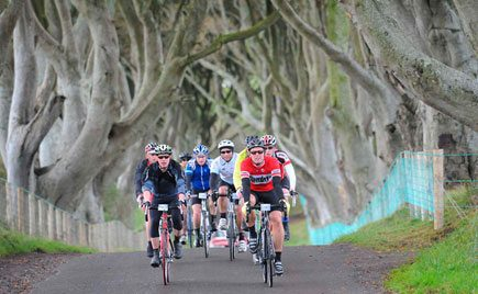 Ireland Vacation Packages - Cycle Tour at the Dark Hedges in Antrim